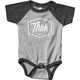 Infant Black Script One-Piece Supermini