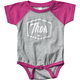 Infant Pink Script One-Piece Supermini