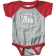 Infant Red Script One-Piece Supermini