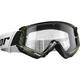 Black/Lime Combat Cap Goggles - 2601-2365