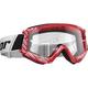 Red/White Combat Cap Goggles - 2601-2366