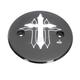Black Cross Series Stator Cover - CR-SCIS-B