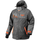 Charcoal/Gray/Orange Squadron Jacket