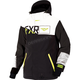 Black/White/Hi-Vis Squardron Jacket
