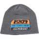 Charcoal Heather/Orange Race Division Patch Beanie - 173324-0630-00