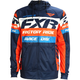 Navy/Orange Race Division Tech Zip Hoody