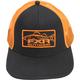 Black/Orange Angler Hat - 171902-1030-00