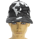 Gray Urban Camo Split Hat