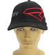 Black/Red Split Hat
