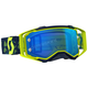 Yellow/Blue Prospect Goggles w/Electric Blue Chrome Works Lens - 262589-1300278