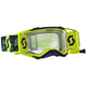 Yellow/Blue Prospect WFS Goggles w/Clear Lens - 26259-01017113