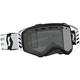 Black/White Prospect Enduro Goggles w/Gray Lens - 26259-11007328