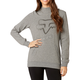 Women's Heather Graphite Certain Pullover Hoody