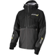 Black/Charcoal R1 Pro Tri-Laminate Jacket