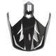 Black Visor for HJC DS-X1 Helmets - 510-609