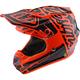 Youth Orange/Black Factory SE4 Helmet