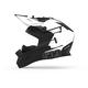 White Trace Altitude Carbon Fiber Helmet w/Fidlock Technology
