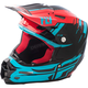 Red/Blue/Black F2 Carbon MIPS Forge Helmet