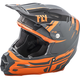 Charcoal/Orange F2 Carbon MIPS Forge Helmet