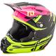 Matte Neon Pink/Hi-Vis F2 Carbon MIPS Forge Helmet