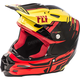 Yellow/Red/Black F2 Carbon MIPS Peick Replica Helmet