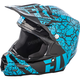 Lite Blue/Black F2 Carbon Fracture Helmet