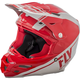 Red/Gray F2 Carbon Rewire Helmet