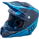 Navy Blue/Lite Blue F2 Carbon Rewire Helmet