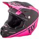 Matte Neon Pink/Black F2 Carbon Rewire Helmet