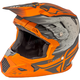 Youth Matte Orange/Khaki Toxin MIPS Resin Helmet