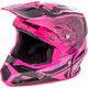 Youth Black/Neon Pink Toxin MIPS Resin Helmet
