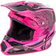 Black/Neon Pink Toxin MIPS Resin Helmet