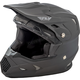 Youth Matte Black Toxin Helmet