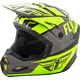 Hi-Vis/Gray/Black Elite Guild Helmet