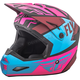 Matte Neon Pink/Blue/Black Elite Guild Helmet