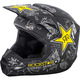 Matte Black/Charcoal/Yellow Elite Rockstar Helmet