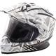 White/Gray Trekker Nova Helmet