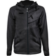Black Tech Zip Hoody