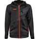 Orange Tech Zip Hoody