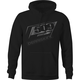 Black Tech Pullover Hoody