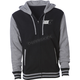 Black/Gray 5 Zip Hoody