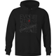 Black Evolution Pullover Hoody