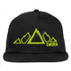 Lime 5 Peak Snapback Hat - 509-HAT-5PLB