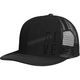 Black Five Mesh Snapback Hat - 509-HAT-FMB
