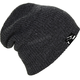 Black Heather Oversized Beanie - 509-HAT-OVB7