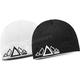 White/Black Reversible Beanie - 509-HAT-5PRW