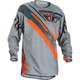 Gray/Orange/Black Evolution 2.0 Jersey