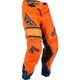 Youth Orange/Navy Kinetic Era Pants