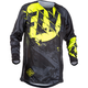 Youth Black/Hi-Vis Kinetic Outlaw Jersey