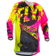 Youth Black/Neon Pink/Hi-Vis Kinetic Outlaw Jersey